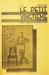 Omslag van Le Petit Vingtième van 15 mei 1930. Foto: Wikipedia